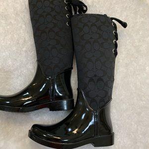 "COACH "" Best Rain Boots 👢 ever!!!!"